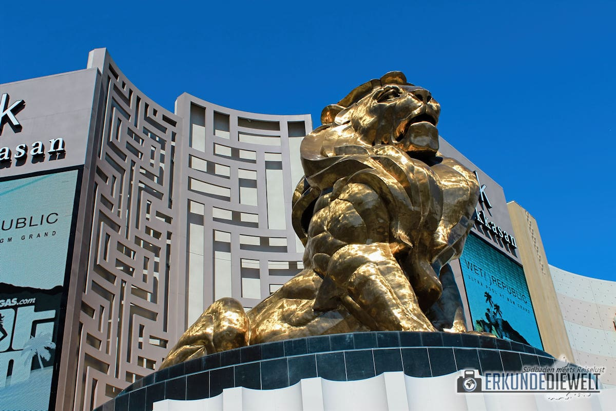 MGM Löwe, Las Vegas, USA