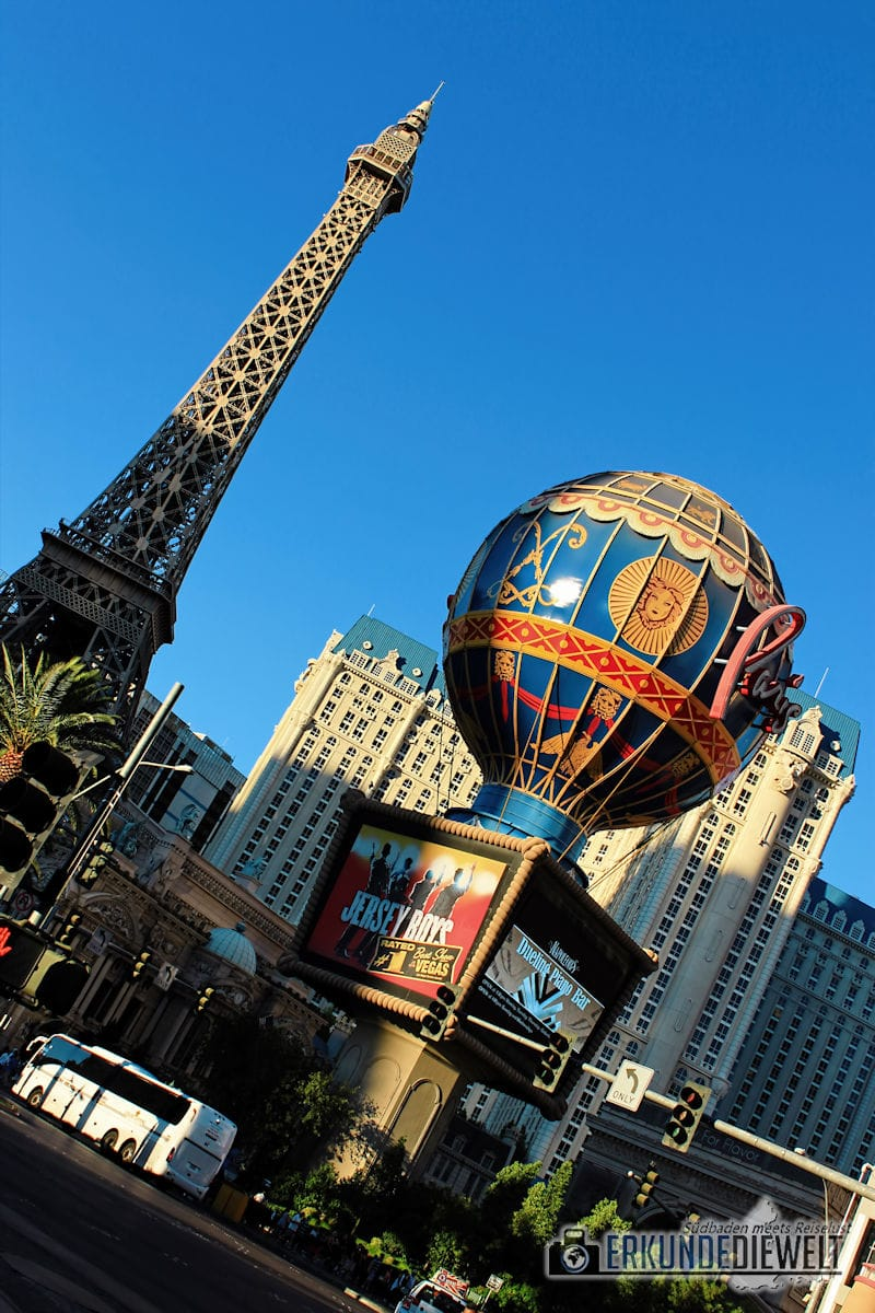 Paris, Las Vegas, USA