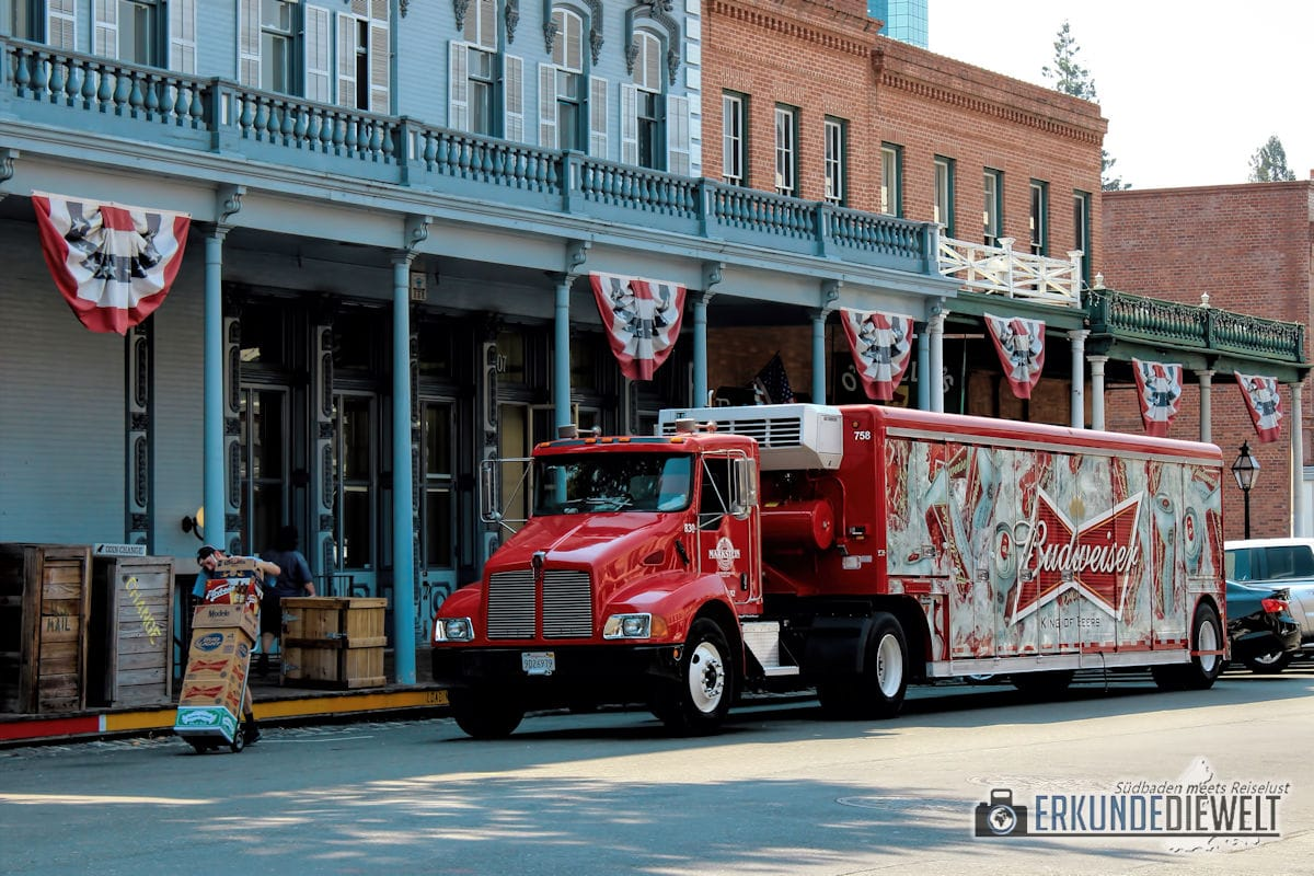 Old Sacramento, Kalifornien, USA