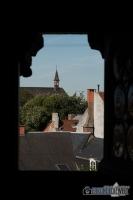 Blick von Burg Gravensteen, Gent, Brüssel
