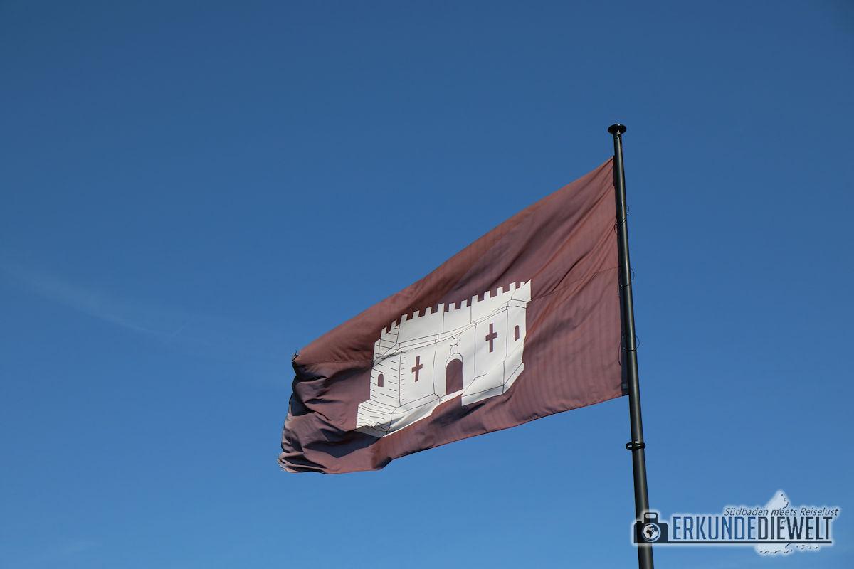 Flagge Burg Gravensteen, Gent, Brüssel