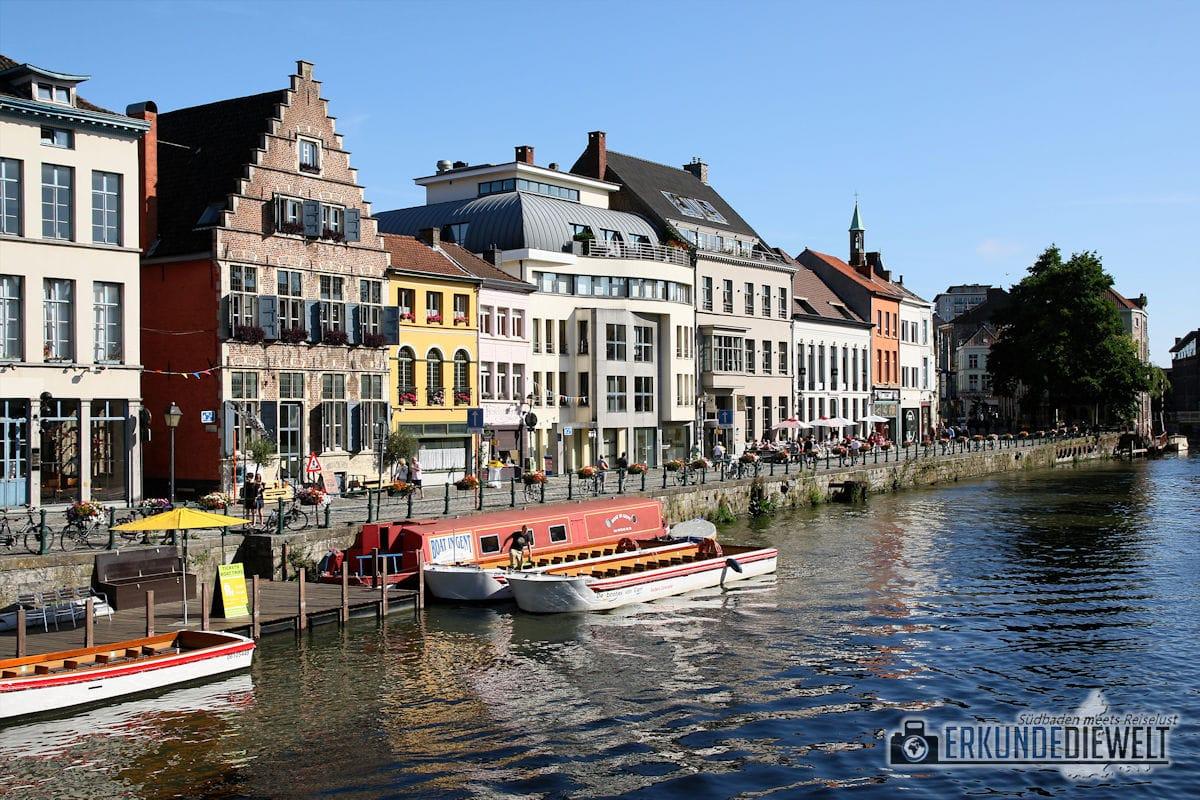 Leie, Gent, Brüssel