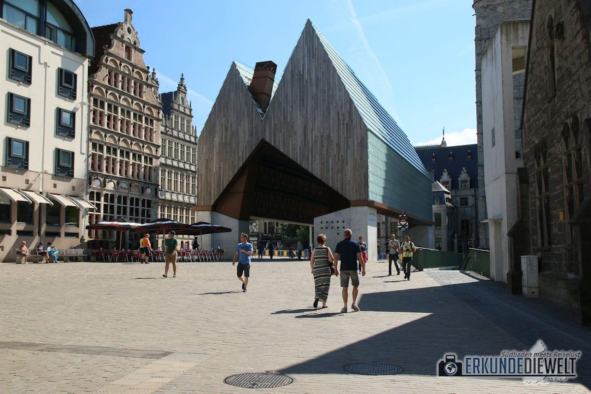 Stadthalle, Gent, Brüssel