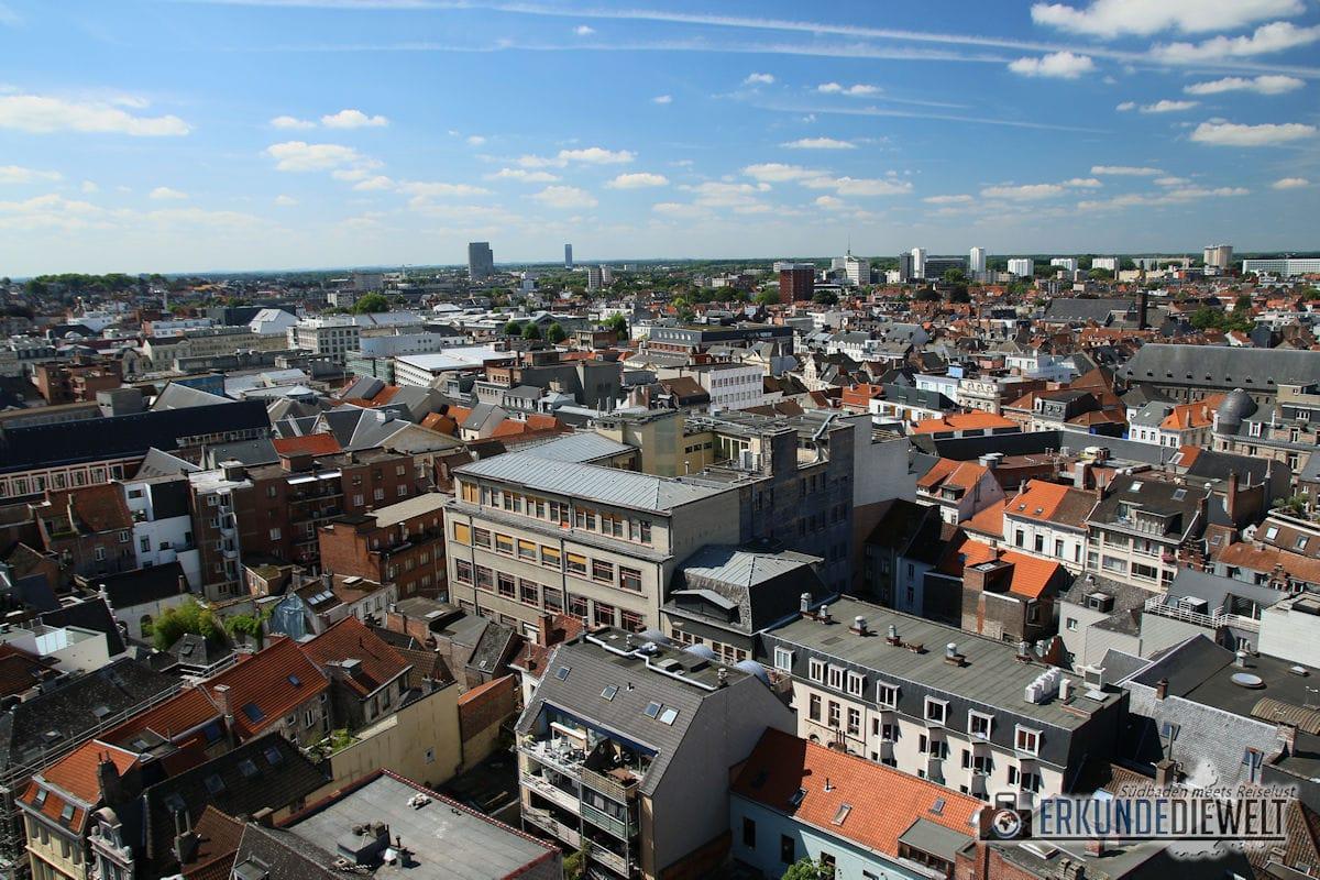 Aussicht vom Belfort, Gent, Brüssel