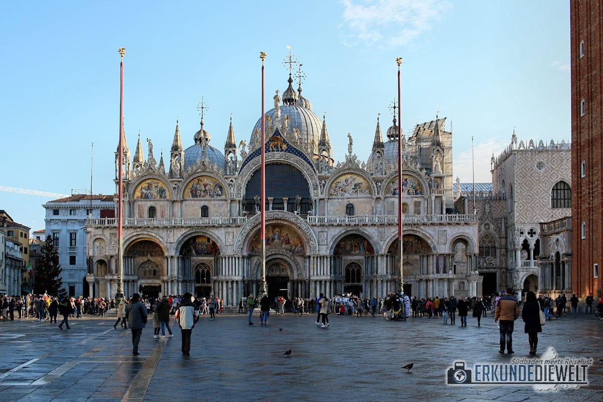 Markuskirche am Markusplatz, Venedig, Italien
