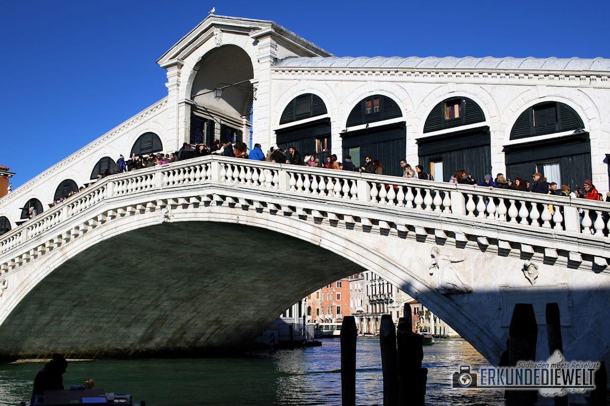 Rialtobrücke, Venedig, Italien