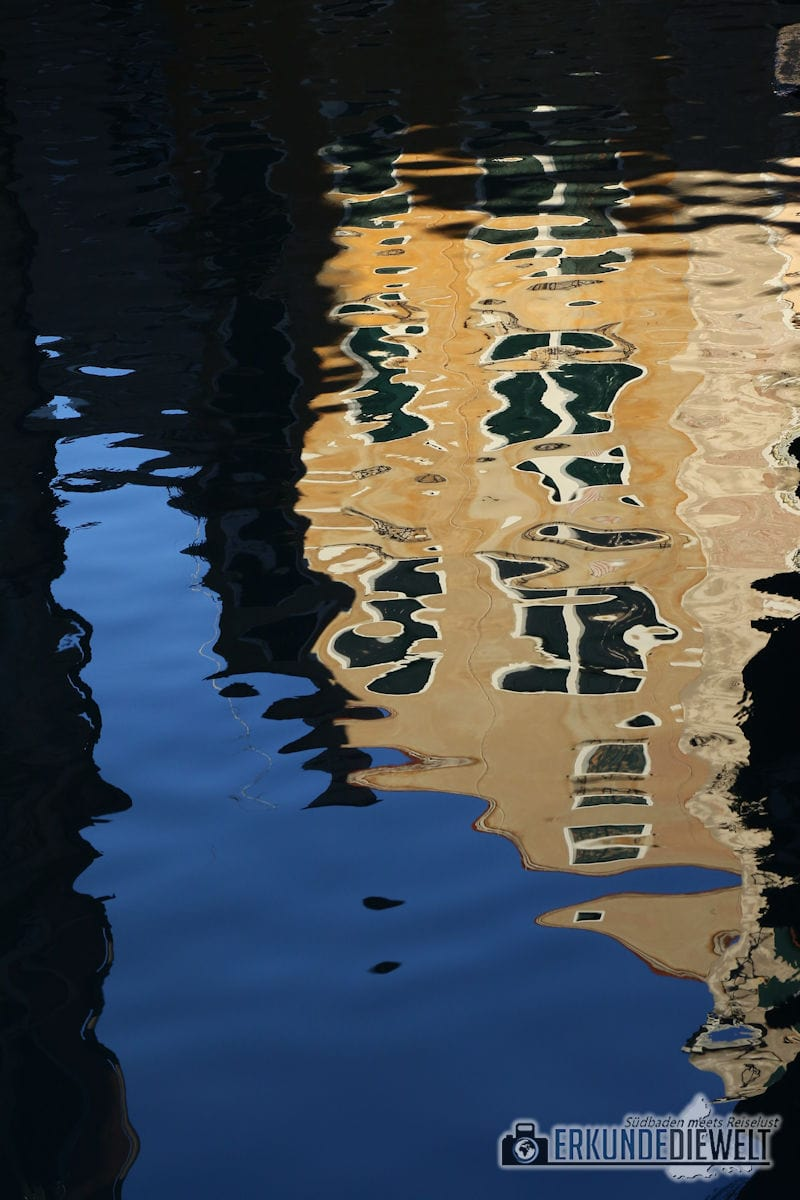 Wasserspiegelung, Venedig, Italien