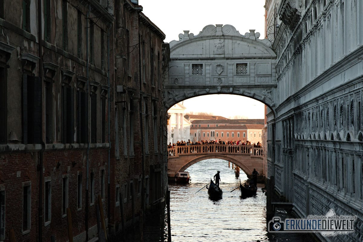Seufzerbruecke, Venedig, Italien