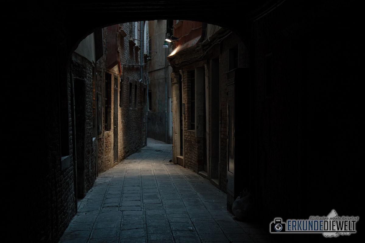 Gasse, Venedig, Italien