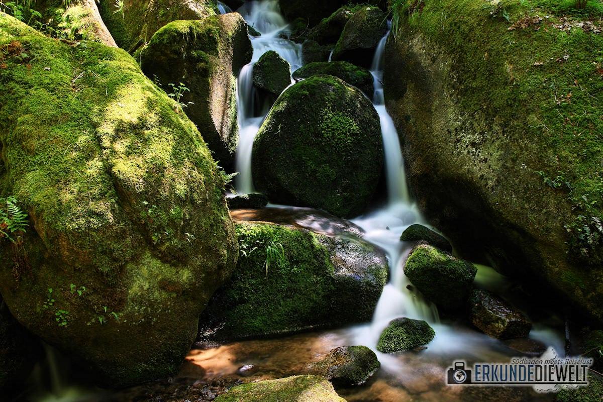 Gertelbach Wasserfälle, Schwarzwald, Deutschland
