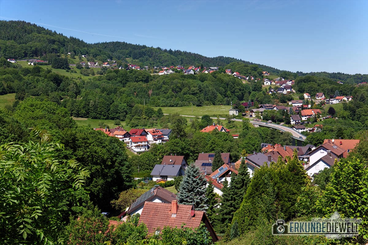Bühlertal, Gertelbach-Rundweg, Deutschland