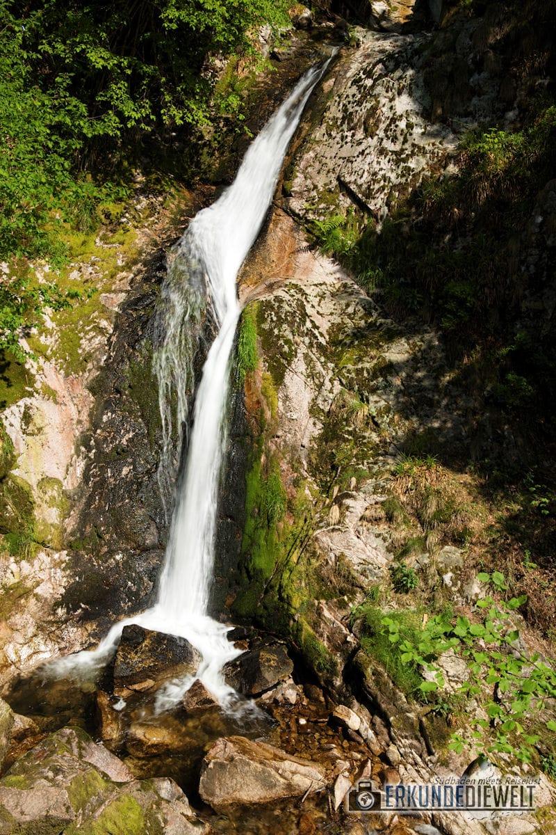 Allerheiligen Wasserfälle, Schwarzwald, Deutschland