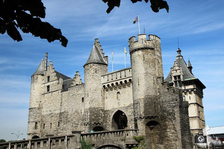 Burg Steen, Antwerpen, Belgien