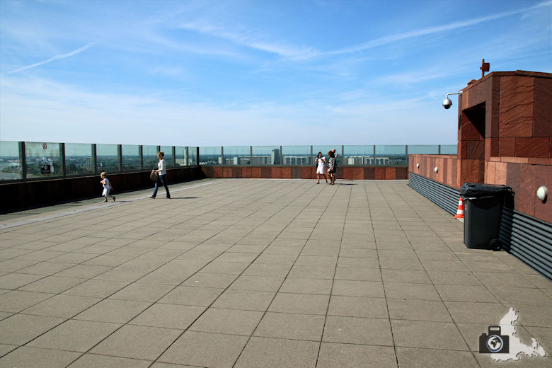 Aussichtsplattform auf dem MAS, Antwerpen, Belgien