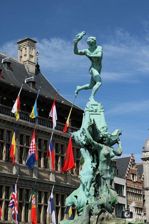Stadhuis, Antwerpen, Belgien