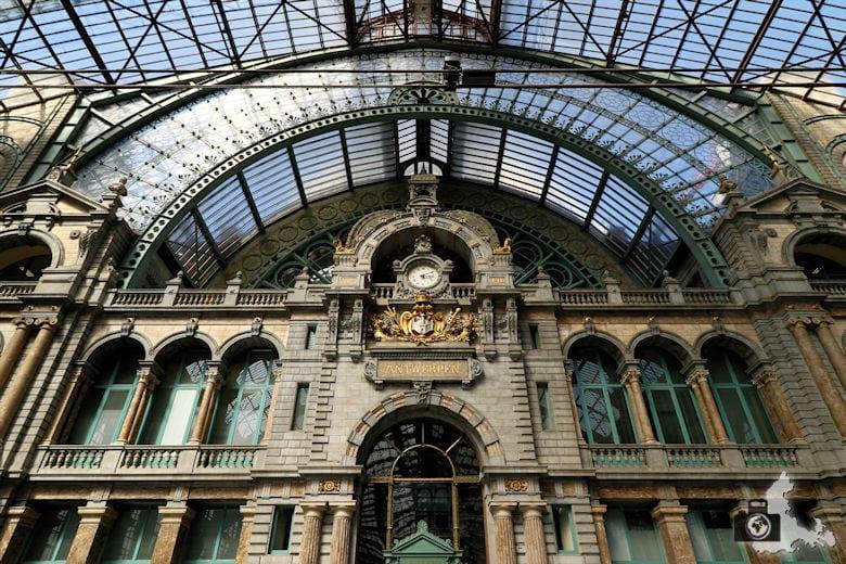Bahnhof Antwerpen-Centraal, Belgien