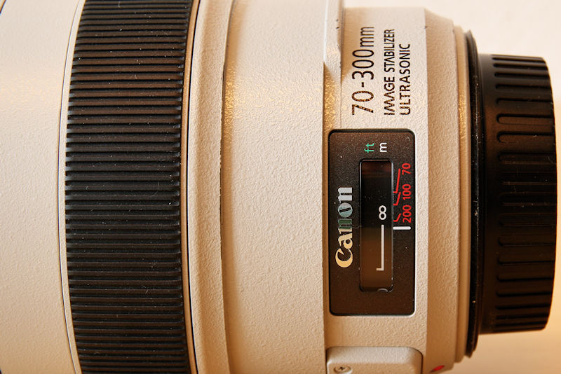 Canon 70-300 L IS USM Digitalanzeige