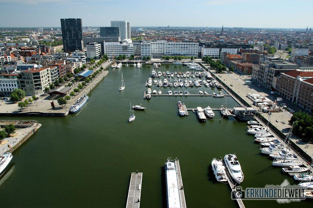 Hafen, Antwerpen, Belgien