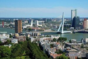 Erasmusbrücke, Rotterdam, Niederlande