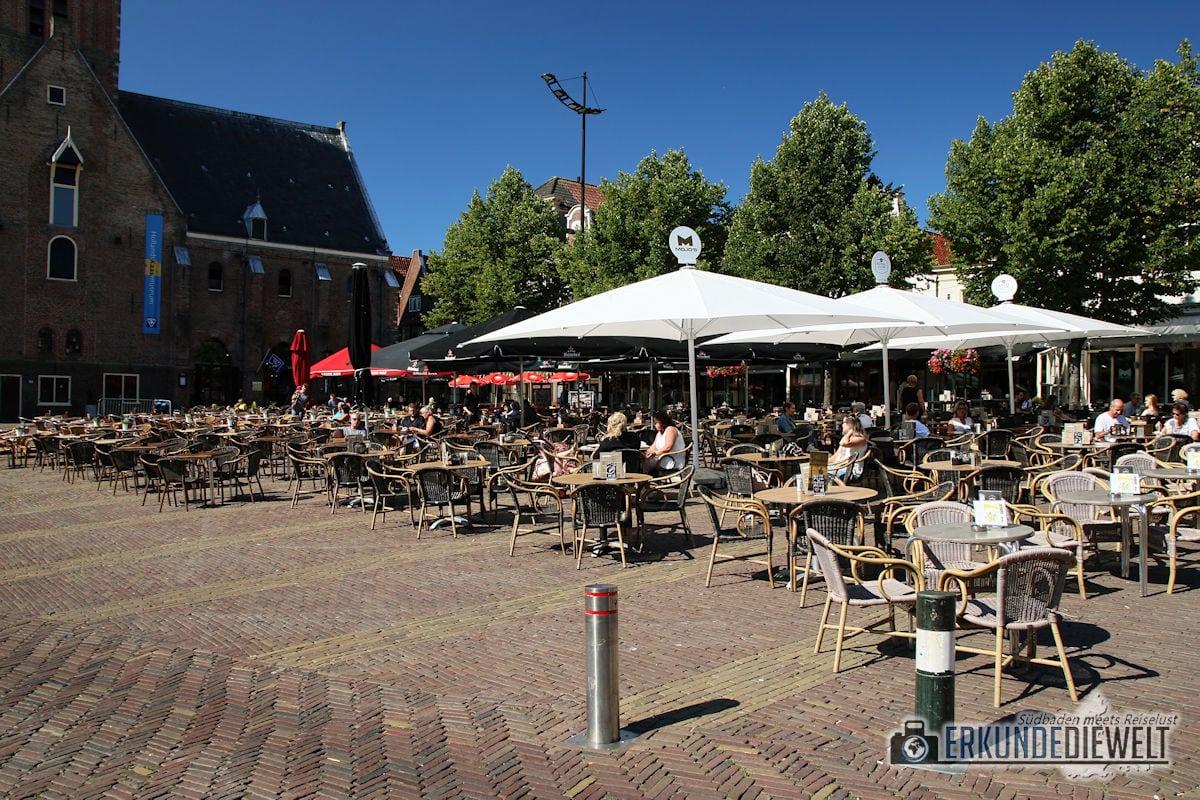 Am Käsemarkt, Alkmaar, Niederlande