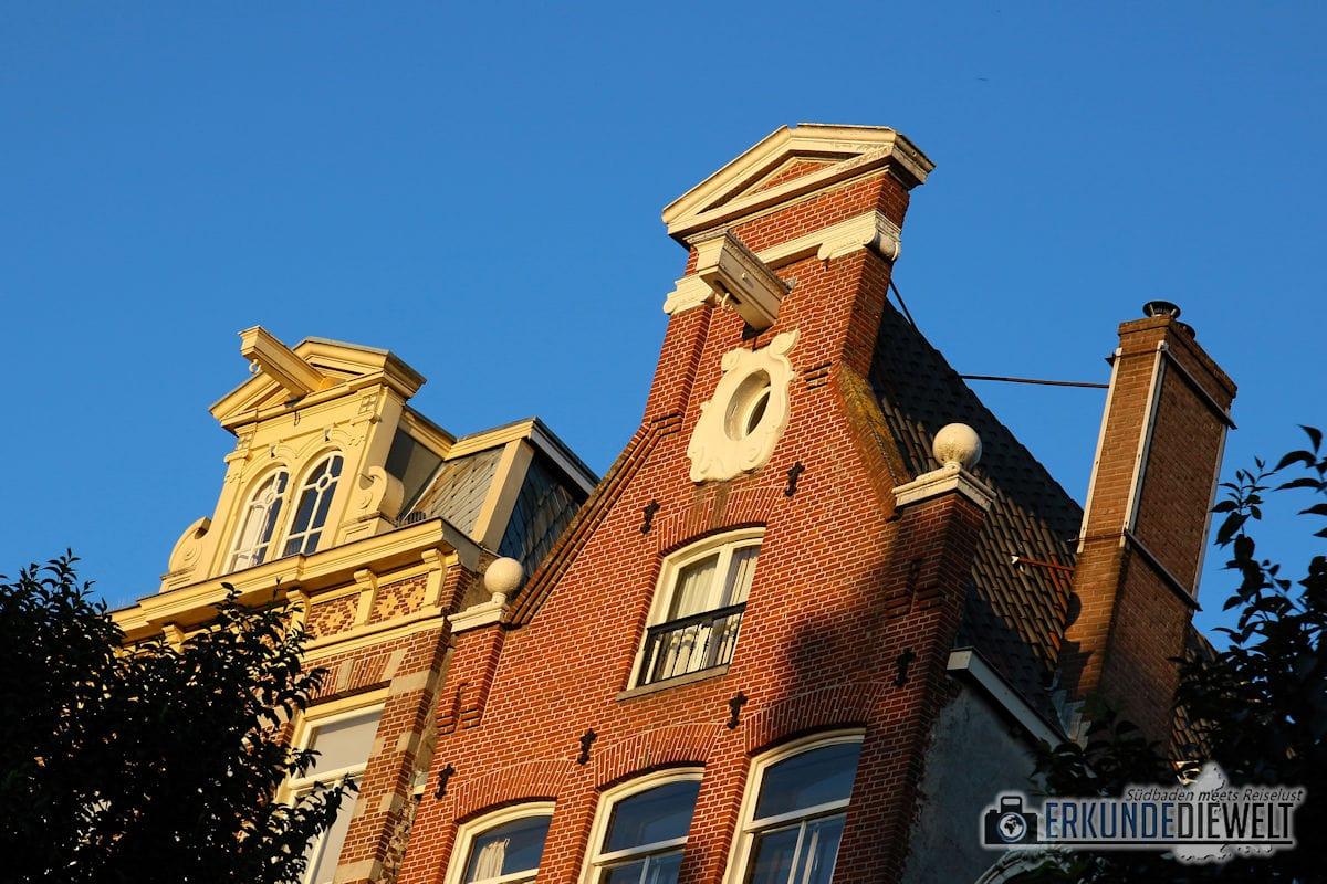 Grachtenfahrt, Amsterdam, Niederlande