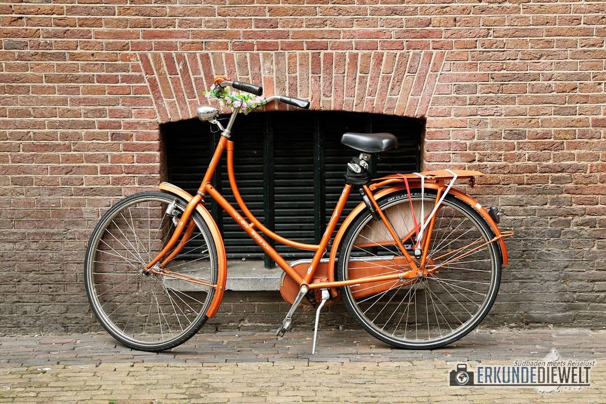Fahrrad, Amsterdam, Niederlande