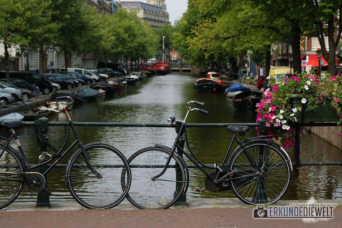 Fahrräder, Amsterdam, Niederlande
