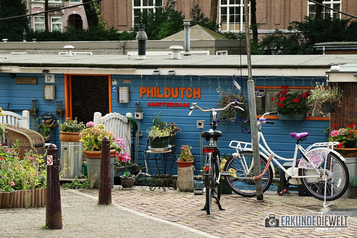 Hausboot, Amsterdam, Niederlande