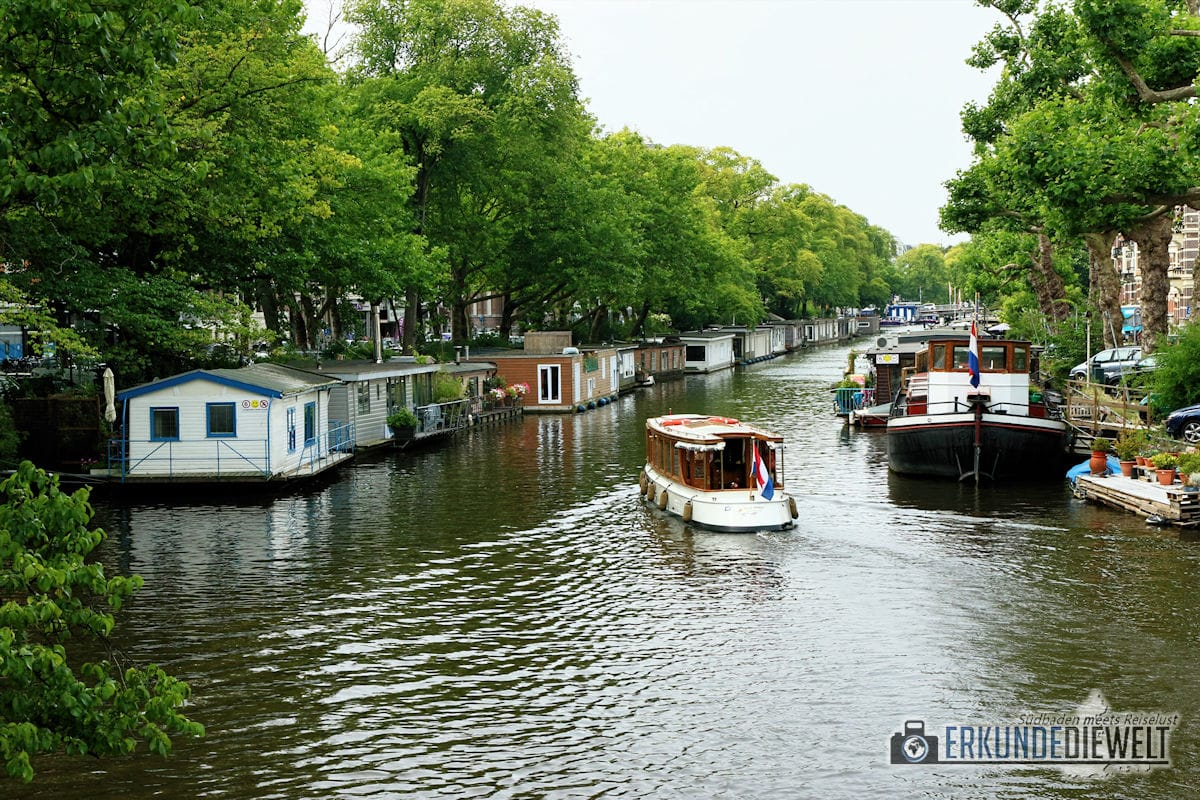 Hausboot,e Amsterdam, Niederlande