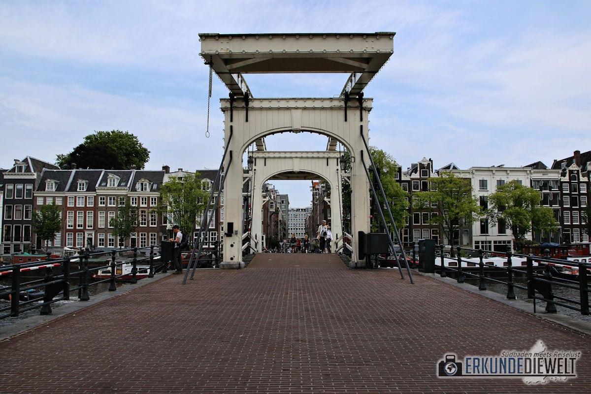 Zugbrücke, Amsterdam, Niederlande