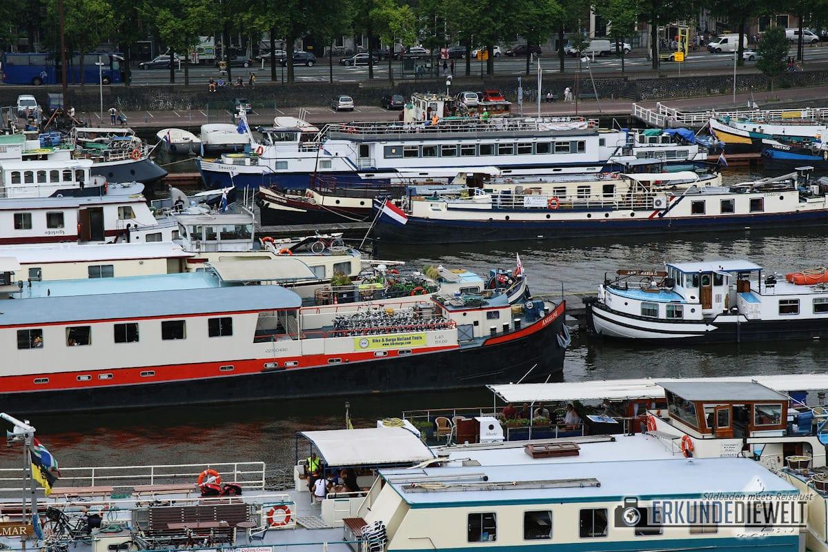 Schiffe, Amsterdam, Niederlande