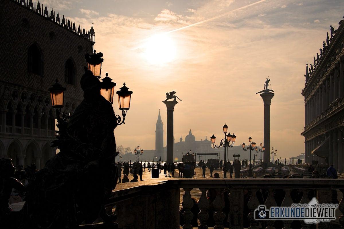 Am Markusplatz, Venedig, Italien
