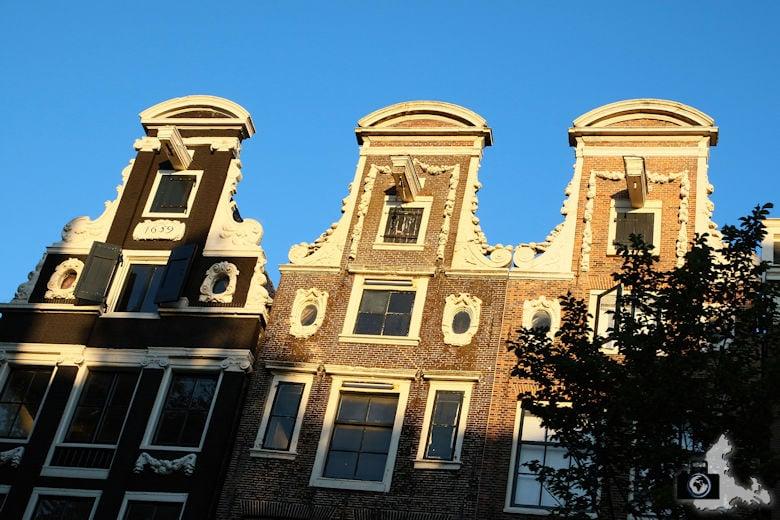 Amsterdam Grachtenfahrt Giebel