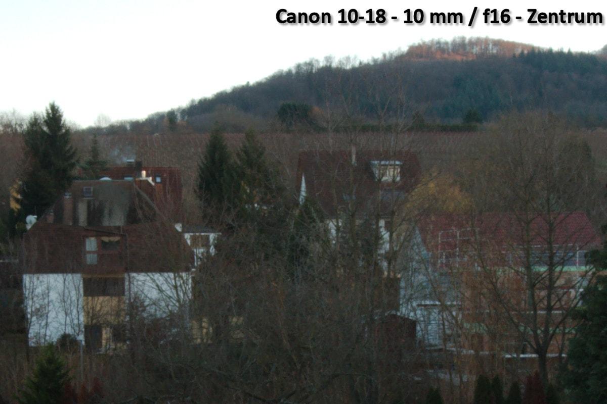Beispielbild Canon 10-18 IS STM - 10 mm / f16 - Bildmitte