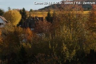 Beispielbild Canon 10-18 IS STM - 10 mm / f16 - Zentrum