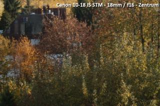 Beispielbild Canon 10-18 IS STM - 18 mm / f16 - Zentrum
