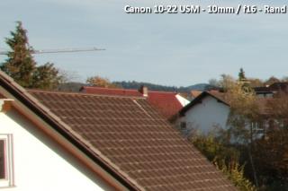 Beispielbild Canon 10-22 USM - 10 mm / f16 - Randbereich