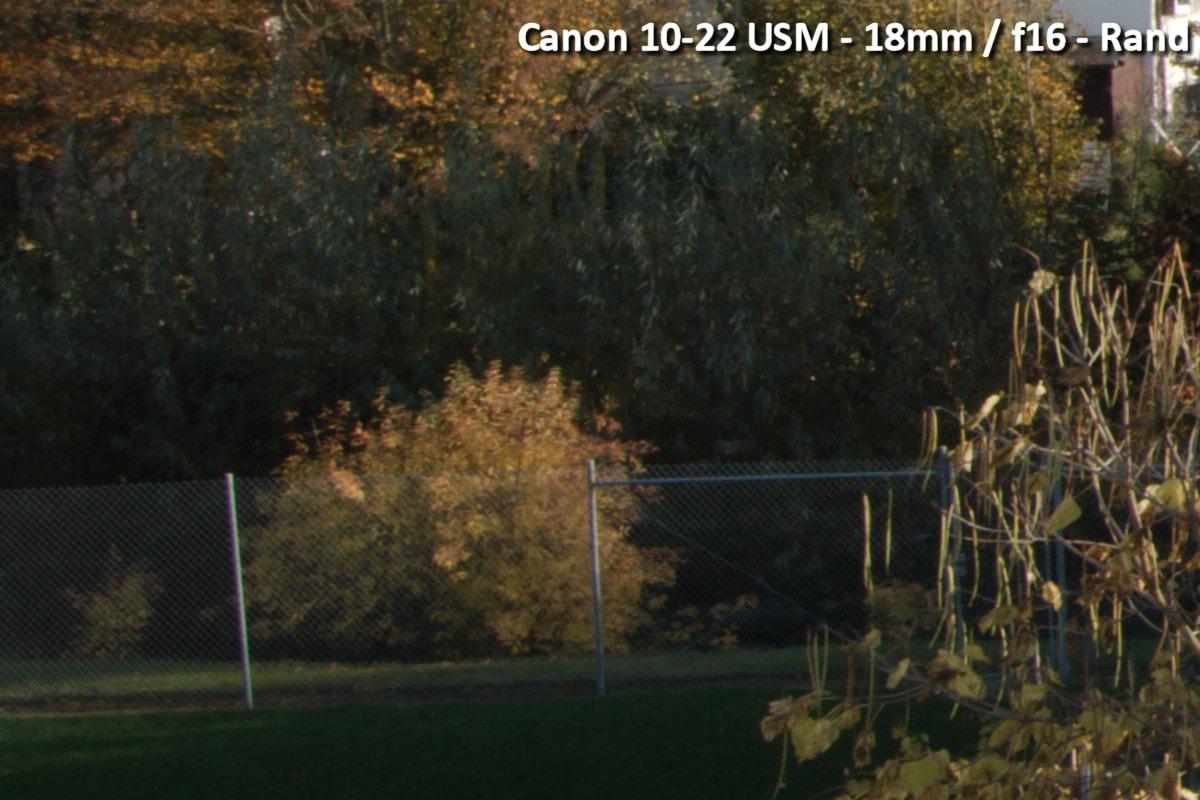 Beispielbild Canon 10-22 USM - 18 mm / f16 - Randbereich