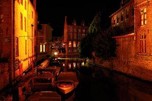 FotoJuwel - Gracht bei Nacht