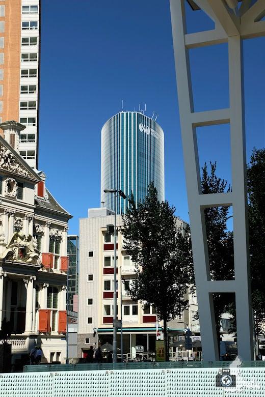 Rotterdam in den Niederlanden - spannende Architektur