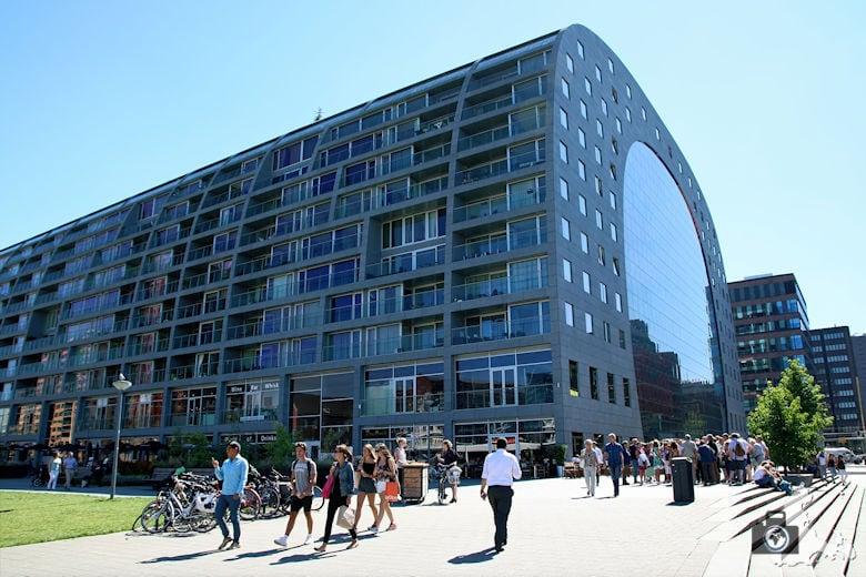 Rotterdam in den Niederlanden - Markthalle