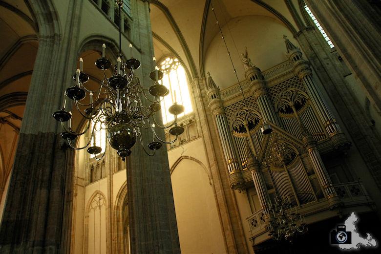 Unterwegs in Utrecht in den Niederlanden - In der Domklerk