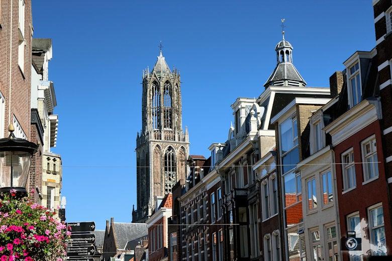 Unterwegs in Utrecht in den Niederlanden - Domturm