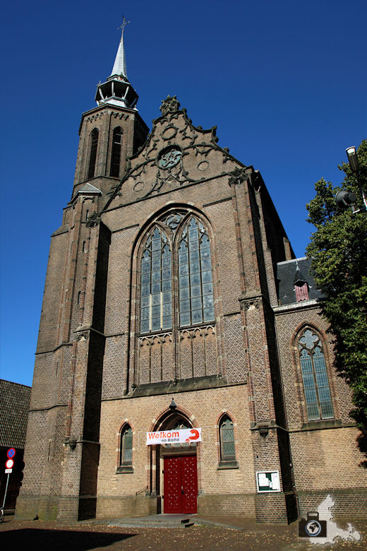 Unterwegs in Utrecht in den Niederlanden - St. Catharinakathedraal