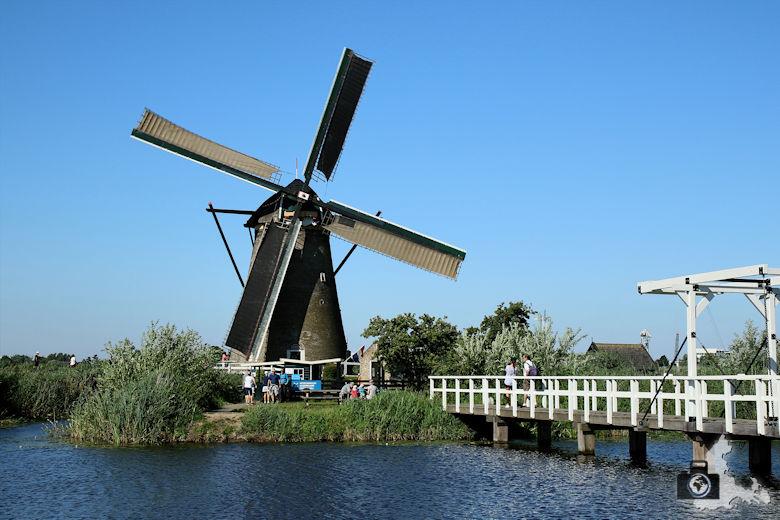 Windmühlen von Kinderdijk in den Niederlanden - Museum