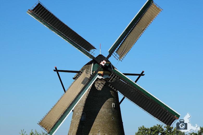 Windmühlen von Kinderdijk in den Niederlanden