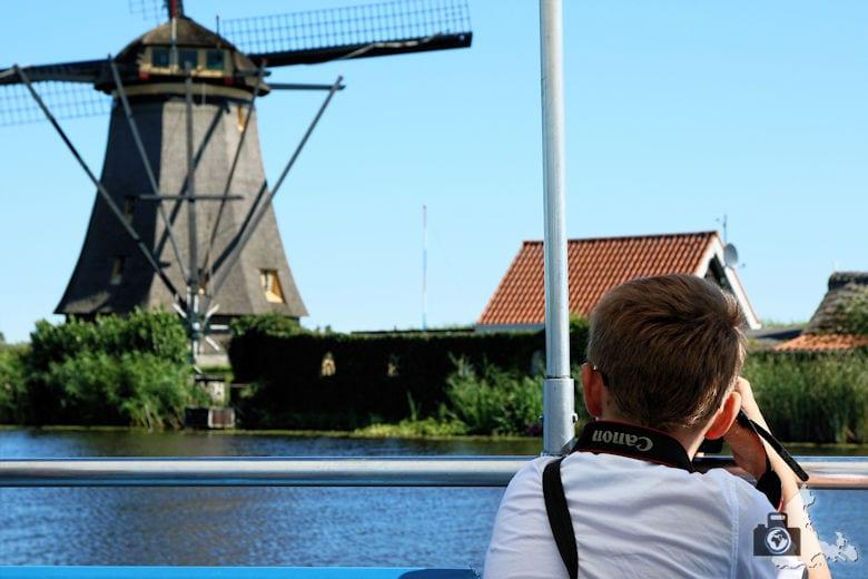 Windmühlen von Kinderdijk in den Niederlanden - Lucas fotografiert