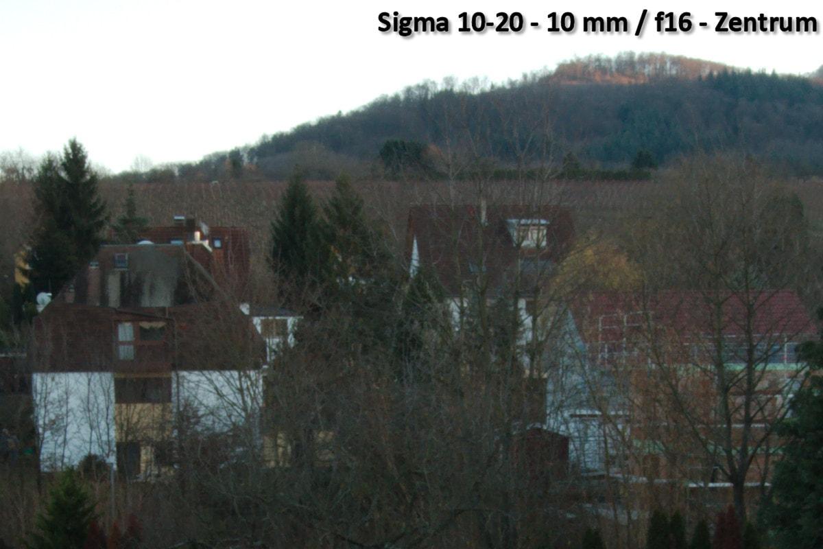 Beispielbild Sigma 10-20 - 10 mm / f16 - Bildmitte