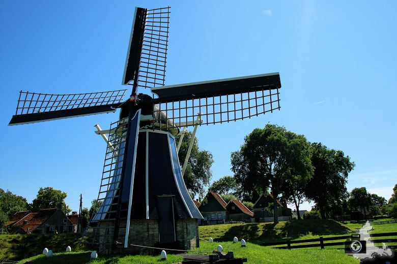 Zuiderzeemuseum Enkhuizen Windmuehle