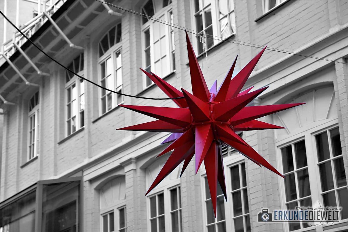 Color-Key Bild - Weihnachtsstern